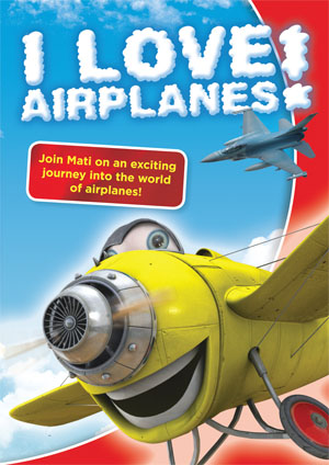 I Love Airplanes! - Airplane DVD for kids, family movie, educational dvd
