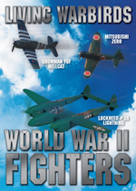 Living Warbirds: World War II Fighters Warbirds DVD - Airplane DVD