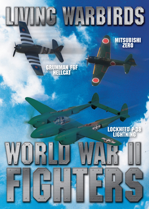 Living Warbirds: World War II Fighters Warbirds DVD Front Cover