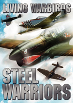 Living Warbirds: Steel Warriors Warbirds DVD - Airplane DVD