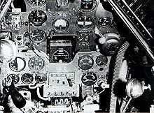 Aircraft Picture - Instrument panel of a Yokosuka D4Y4