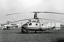Aircraft Picture - Kamov Ka-25K in Aeroflot markings at the 1967 Paris Air Show