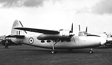 Aircraft Picture - Percival Pembroke C.1 of Bomber Command Communications Squadron at Blackbushe Airport Hampshire in September 1956.