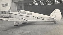 Aircraft Picture - Proctor 5 of Field Aircraft services on a business flight to Manchester in 1953