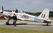 Aircraft Picture - Privately-owned Percival Provost P.56 T1 in 2007