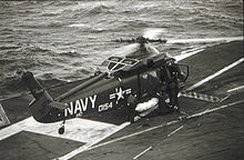 Aircraft Picture - A UH-2C aboard the USS Hancock between July 1968 and March 1969