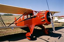 Aircraft Picture - Waco UIC standard cabin biplane