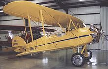 Aircraft Picture - Waco ASO Straight-wing of 1929 at the Historic Aircraft Restoration Museum near St Louis in June 2006