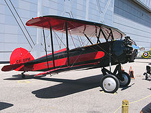 Aircraft Picture - 1929 model Advance Aircraft Company Taperwing ATO of Vintage Wings of Canada.