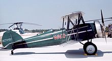Aircraft Picture - Waco CTO of 1929 at Marine Corps Air Station Beaufort South Carolina, in April 2004.