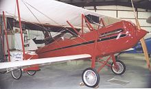 Aircraft Picture - Waco GXE (Model 10) of 1928 with Curtiss OX-5 engine