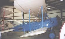 Aircraft Picture - Waco JWM straight-wing mailplane of 1929 in the markings of
