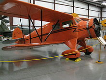 Aircraft Picture - Waco UEC of 1932 at the Yanks Air Museum Chino California in 2008