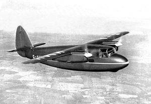 Airplane Picture - This image of the Merganser taken from a Percival Aircraft brochure, c. 1947.