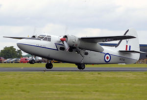 Airplane Picture - Privately-owned Hunting Percival P-66 Pembroke C.1 takes off in 2008