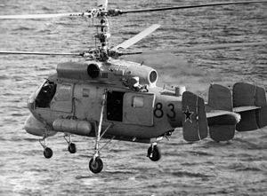 Airplane Picture - A Soviet Ka-25 anti-submarine helicopter