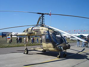 Airplane Picture - Ka-226T at MAKS 2005