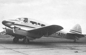 Aircraft Picture - Percival Petrel