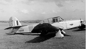 Airplane Picture - A Percival P.40 Prentice T.1 of No. 16 Reserve Flying School based at Derby (Burnaston) Airport in service in May 1953