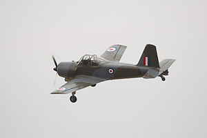 Airplane Picture - A Percival Provost T.1 preserved as part of The Shuttleworth Collection.