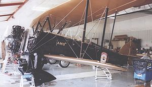Airplane Picture - Waco JYM taper-wing mailplane in the 1929 markings of Northwest Airways mail route CAM-9
