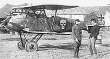 Airplane Picture - Albatros D.III (Oeffag) series 153, with spinner removed