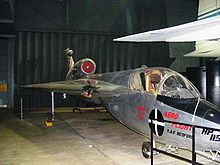Airplane Picture - HP.115 at the Fleet Air Arm Museum