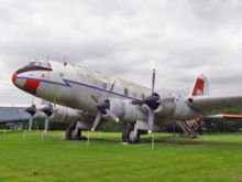 Airplane Picture - HP Hastings T5 TG517 at the Newark Air Museum
