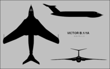 Airplane Picture - 3-view of Victor B.1