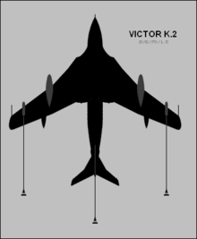 Airplane Picture - Ventral plan of a Victor K Mk.2