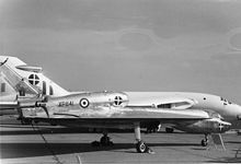 Airplane Picture - The HP.115 at the SBAC show in 1961