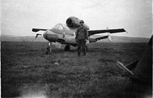 Airplane Picture - Captured He 162