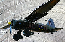 Airplane Picture - A Westland Lysander IIIA preserved at the Steven F. Udvar-Hazy Center
