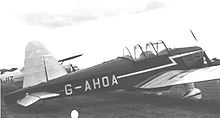 Airplane Picture - The Miles M.18 Mk.3 at Wolverhampton (Pendeford) Airport in 1950