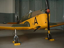 Airplane Picture - Miles Magister at the Imperial War Museum, Duxford