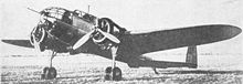Airplane Picture - PZL.37 Tos - the second prototype