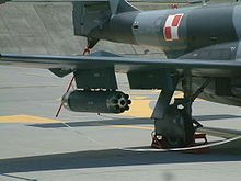 Airplane Picture - Unguided rocket pod on external pylon of TS-11 Iskra R