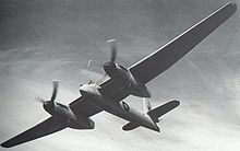 Airplane Picture - Welkin Mk I, emphasising the great span of the high-aspect ratio wings.