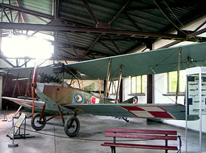 Warbird Picture - Albatros B.II in exhibition in Polish Aviation Museum