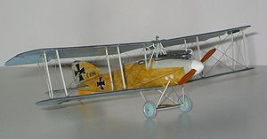 Warbird Picture - 1/72 scale model by Paul Thompson