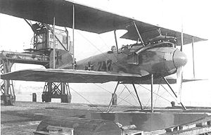 Warbird Picture - First prototype of Albatros W.IV, No.747