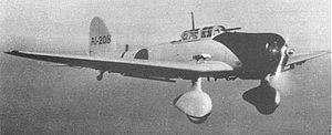 Warbird Picture - Aichi D3A1 from carrier Akagi.