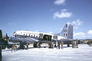 Warbird Picture - Hastings TG582, Christmas Island August 1956