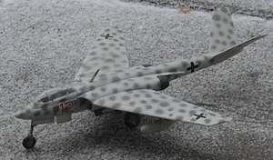 Warbird Picture - Heinkel He P.1079A model aircraft
