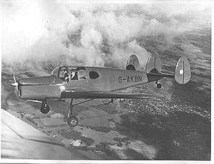 Warbird Picture - Miles M.38 Messenger 2A