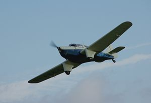 Warbird Picture - Miles M.3A Falcon Major G-AEEG at Old Warden