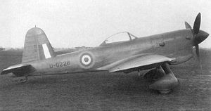 Warbird Picture - Second prototype of the Miles M.20