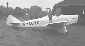 Warbird Picture - Miles M.2H Hawk Major at White Waltham Airfield, near Maidenhead Berkshire, in June 1953