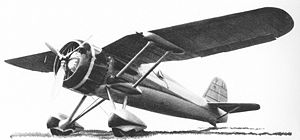 Warbird Picture - The second prototype of the PZL P.24