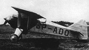 Warbird Picture - PZL P.1, second prototype